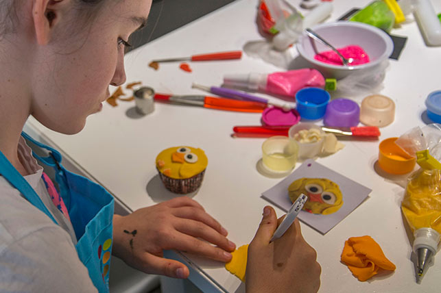activit de d coration de cupcakes animaux pour enfants 12 ans et. Black Bedroom Furniture Sets. Home Design Ideas