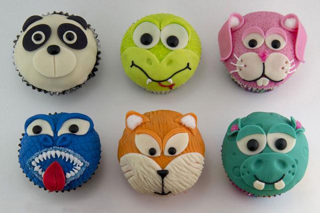 Activit de d coration de cupcakes animaux pour enfants 12 - Deco pour cupcake ...